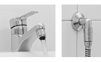 einfache installation wassermengenregler f r dusche und wasserhahn. Black Bedroom Furniture Sets. Home Design Ideas